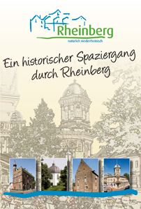 Cover des Flyers - Ein historischer Spaziergang durch Rheinberg